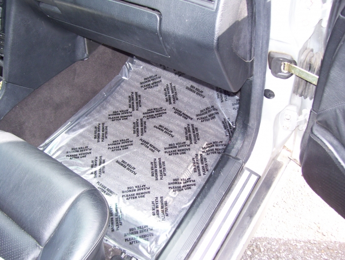 adhesive plastic floor mats car mats automotive service supplies. Black Bedroom Furniture Sets. Home Design Ideas