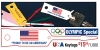 "USA KEYTAGS - OLYMPIC SPECIAL! Imprinted with ""PROUD TO BE AN AMERICAN"""