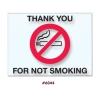NO SMOKING Reminder Static Cling