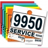 Service Control Numbers - Garage Supplies