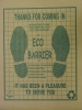 Ecomat Large Paper Floor Mats - Auto Dealer Supplies
